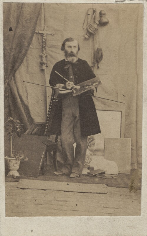Charles Lucy, by Rolfe's Portrait Studio, 1860s - NPG Ax14892 - © National Portrait Gallery, London