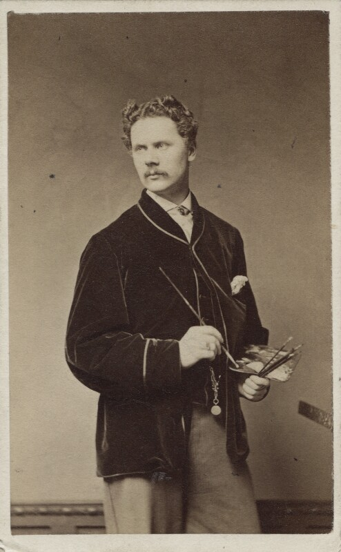 Marcus Clayton Stone, by Lucas Brothers, 1863-1865 - NPG Ax14898 - © National Portrait Gallery, London