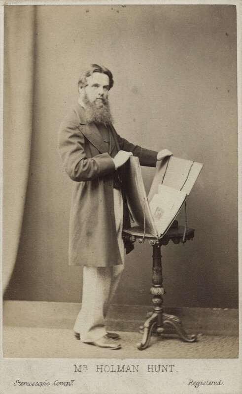 William Holman Hunt, by London Stereoscopic & Photographic Company, circa 1865 - NPG Ax14899 - © National Portrait Gallery, London