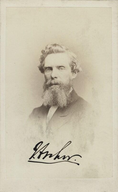 John Wykenham Archer, by George Charles Wallich, mid 1860s-early 1870s - NPG Ax14910 - © National Portrait Gallery, London