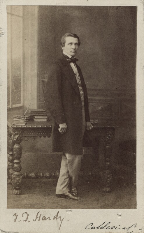 Frederick Daniel Hardy, by Leonida Caldesi, 1860s - NPG Ax14911 - © National Portrait Gallery, London