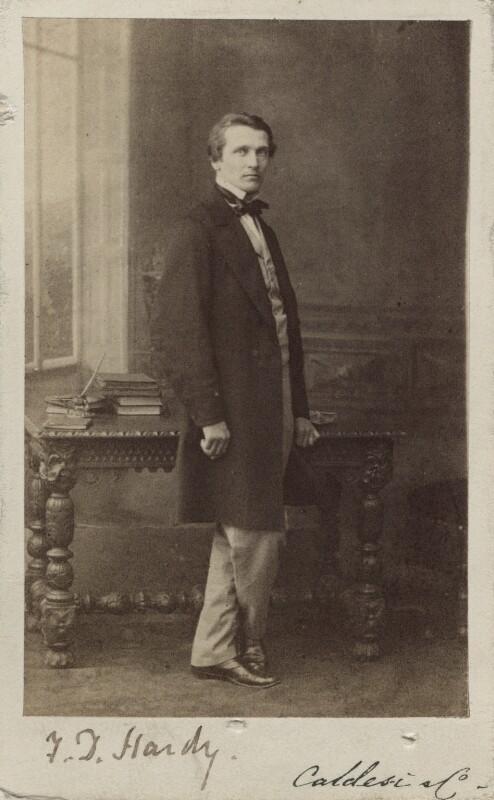 Frederick Daniel Hardy, by Leonida Caldesi, 1860s - NPG Ax14911 - © National Portrait Gallery, London