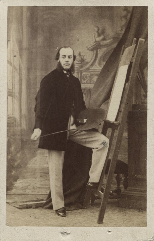 Henry Weigall, by Leonida Caldesi, 1860s - NPG Ax14916 - © National Portrait Gallery, London