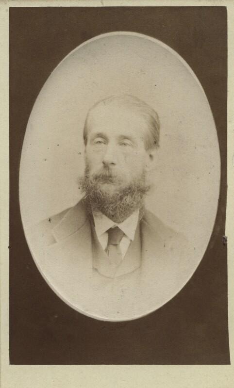 George Augustus Holmes, by Charles B. Praetorius, mid 1870s-mid 1890s - NPG Ax14922 - © National Portrait Gallery, London