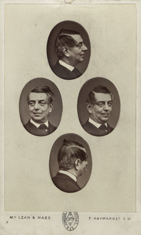 John Orlando Parry, by McLean & Haes, mid 1860s - NPG Ax14880 - © National Portrait Gallery, London