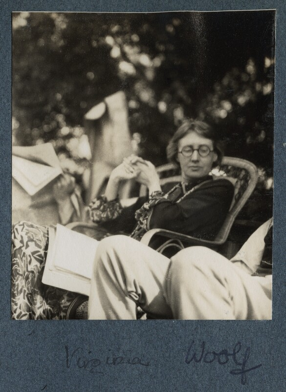 Virginia Woolf, by Lady Ottoline Morrell, June 1926 - NPG Ax142604 - © National Portrait Gallery, London