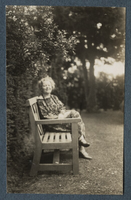 Junia von Anrep (née Yuniya Khitrovo), by Lady Ottoline Morrell, July 1926 - NPG Ax142607 - © National Portrait Gallery, London