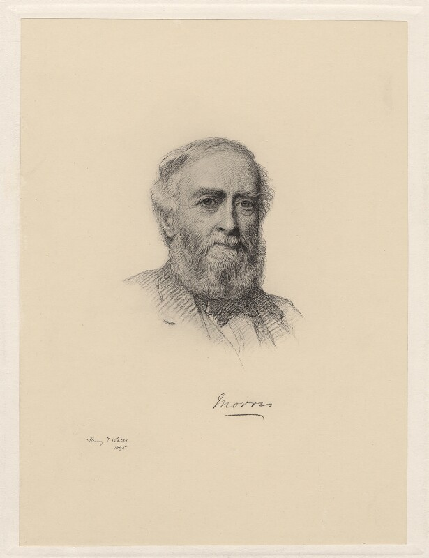 Michael Morris, 1st Baron Killanin, by Henry Tanworth Wells, (1895) - NPG D20744 - © National Portrait Gallery, London