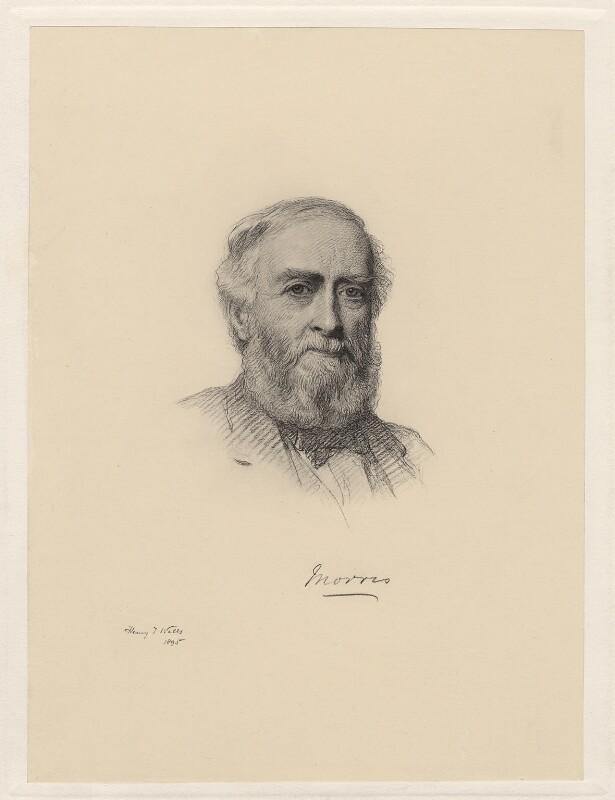 Michael Morris, 1st Baron Killanin, by Henry Tanworth Wells, (1895) - NPG D20744 - © National Portrait Gallery, London