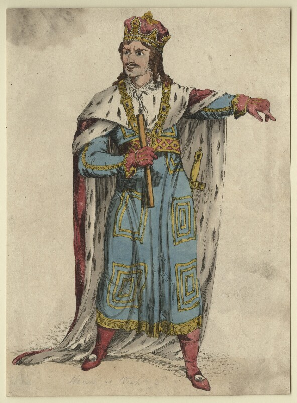 Edmund Kean as Richard II, after Unknown artist, early 19th century - NPG D21259 - © National Portrait Gallery, London