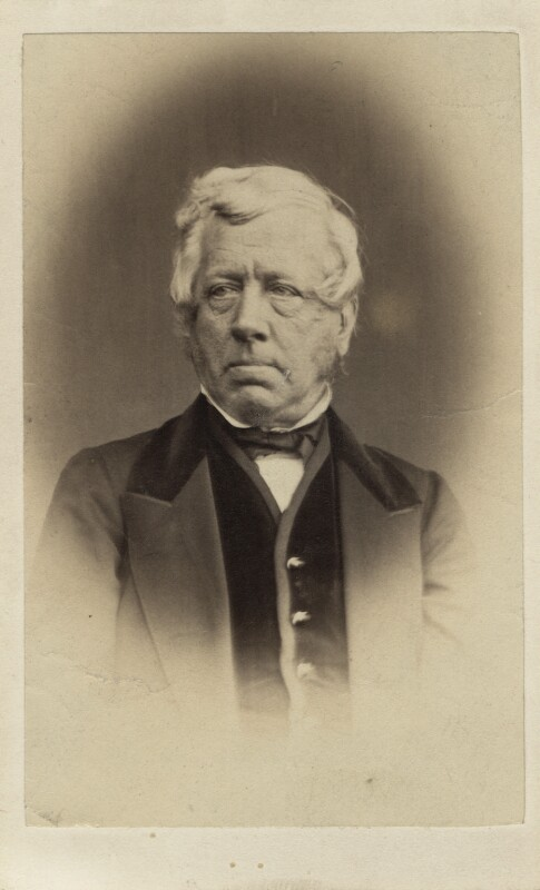 George William Frederick Howard, 7th Earl of Carlisle, by Thomas Cranfield, published by  Mason & Co (Robert Hindry Mason), early-mid 1860s - NPG Ax5084 - © National Portrait Gallery, London