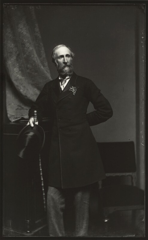 Sir David Baird, 3rd Bt, by Alexander Bassano, early 1870s - NPG x127992 - © National Portrait Gallery, London