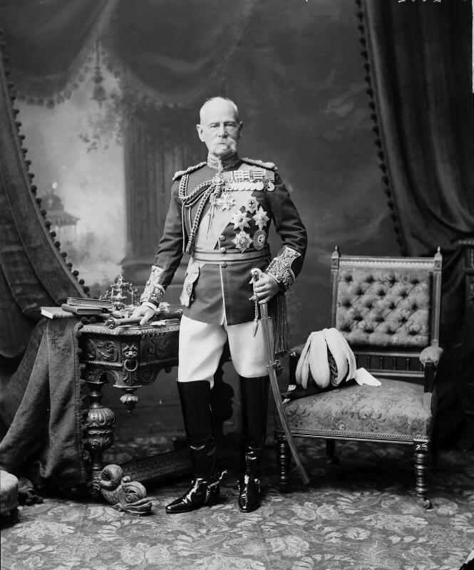 Frederick Sleigh Roberts, 1st Earl Roberts, by Bassano Ltd, 12 July 1904 - NPG x128020 - © National Portrait Gallery, London