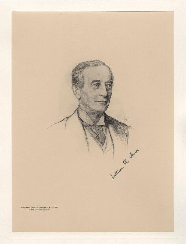 Sir William Reynell Anson, 3rd Bt, after Henry John Stock, (1907) - NPG D20783 - © National Portrait Gallery, London