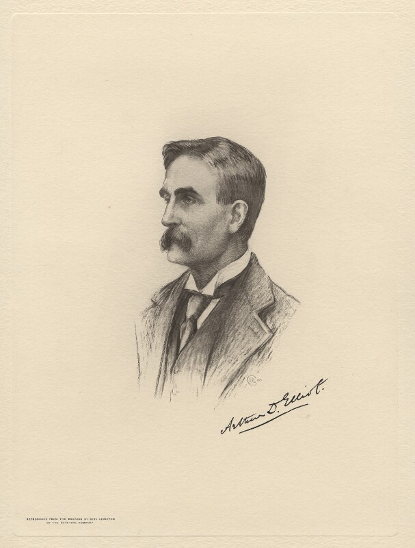 Arthur Ralph Douglas Elliot, by The Autotype Company, after  Miss C.B. Leighton, (1905) - NPG D20788 - © National Portrait Gallery, London