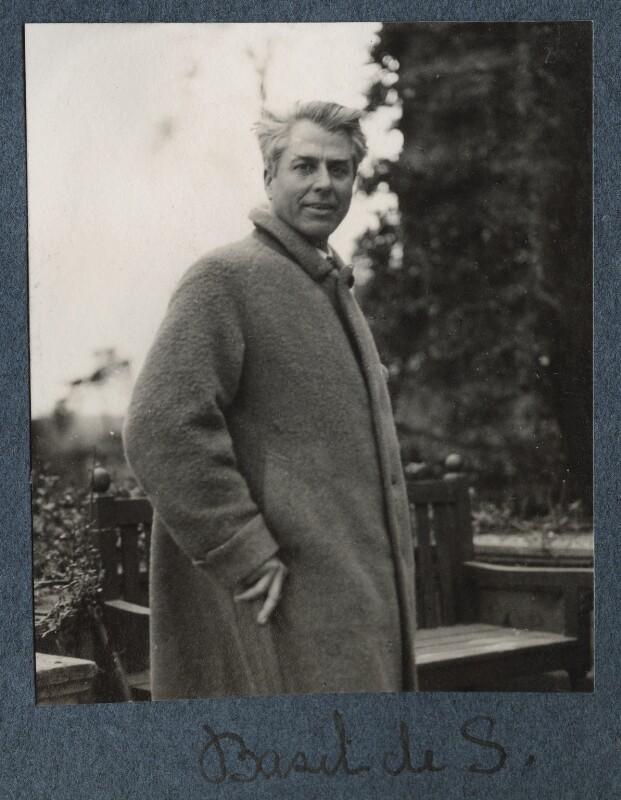 Basil de Sélincourt, by Lady Ottoline Morrell, June 1927 - NPG Ax142789 - © National Portrait Gallery, London