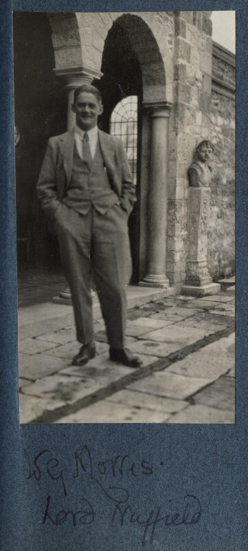 William Richard Morris, Viscount Nuffield, by Lady Ottoline Morrell, 1925 - NPG Ax142798 - © National Portrait Gallery, London
