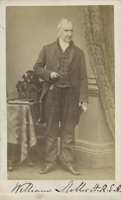 William Miller, by James Good Tunny, 1860s - NPG Ax17141 - © National Portrait Gallery, London