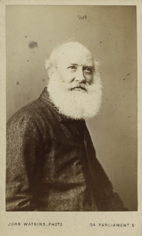 Charles George Lewis, by John Watkins, 1860s - NPG Ax17145 - © National Portrait Gallery, London