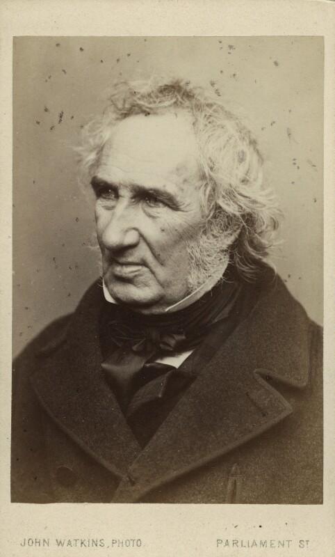 John Burnet, by John Watkins, 1860s - NPG Ax17147 - © National Portrait Gallery, London
