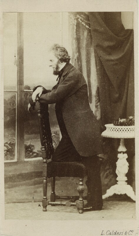 John Anthony Scott, by Leonida Caldesi, 1860s - NPG Ax17153 - © National Portrait Gallery, London
