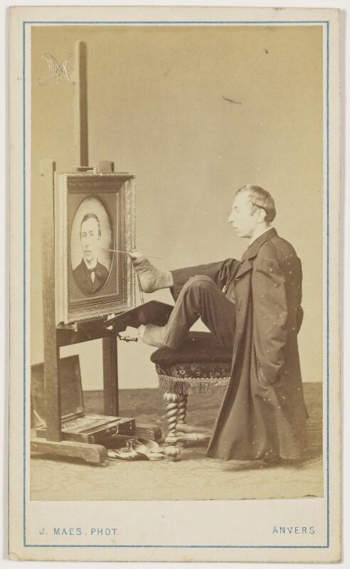Charles François Felu, by Joseph Maes, 1860s - NPG x18868 - © National Portrait Gallery, London