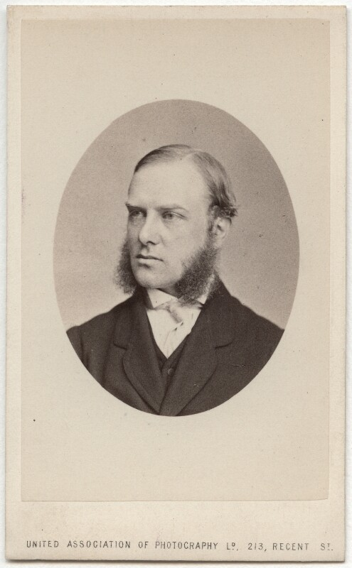 Richard ('Dick') Worsley, by United Association of Photography Limited, 1866 or before - NPG Ax39774 - © National Portrait Gallery, London
