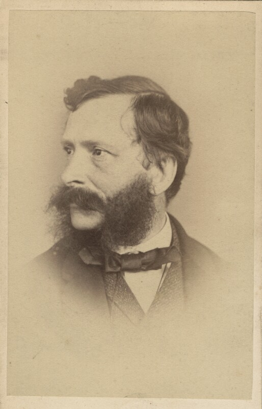 William Charles Thomas Dobson, by Elliott & Fry, late 1860s? - NPG Ax28929 - © National Portrait Gallery, London