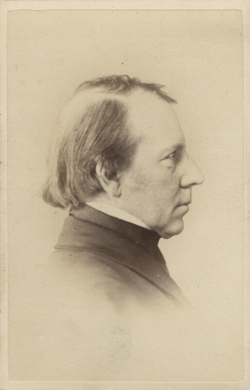 George Richmond, by Elliott & Fry, 1860s - NPG Ax28946 - © National Portrait Gallery, London