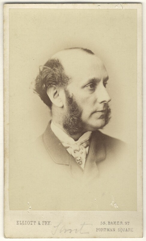 James Sant, by Elliott & Fry, 1860s - NPG Ax17264 - © National Portrait Gallery, London