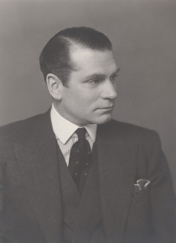 Laurence Olivier, by Walter Stoneman, March 1950 - NPG x21956 - © National Portrait Gallery, London