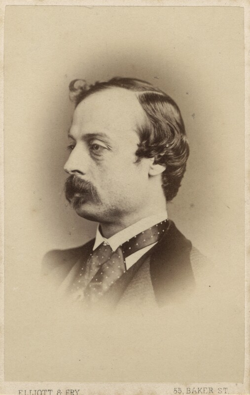 Sir William Quiller Orchardson, by Elliott & Fry, 1860s - NPG Ax28958 - © National Portrait Gallery, London