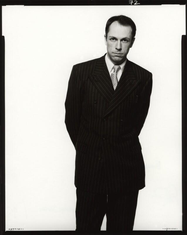 Dylan Jones, by Fergus Greer, 1993 - NPG x127794 - © Fergus Greer