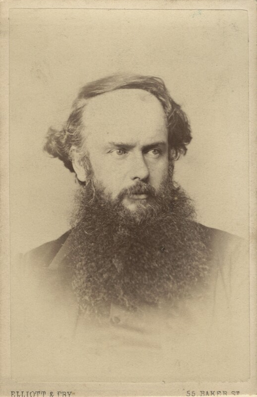 (Myles) Birket Foster, by Elliott & Fry, mid-late 1860s - NPG Ax28974 - © National Portrait Gallery, London
