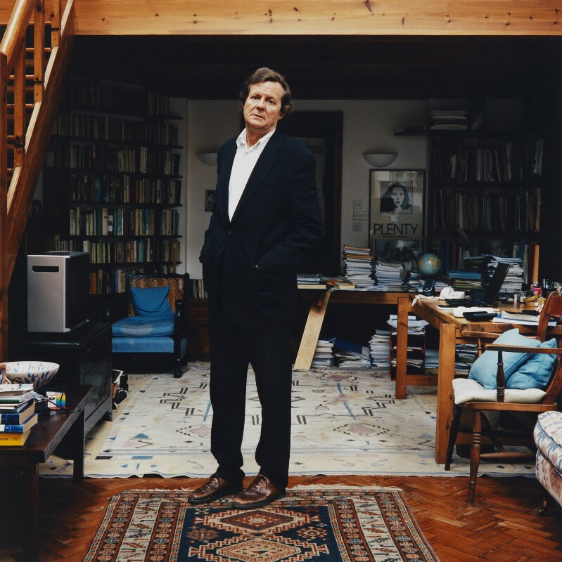 Sir David Hare, by Neil Drabble, 9 June 2005 - NPG x128063 - © Neil Drabble