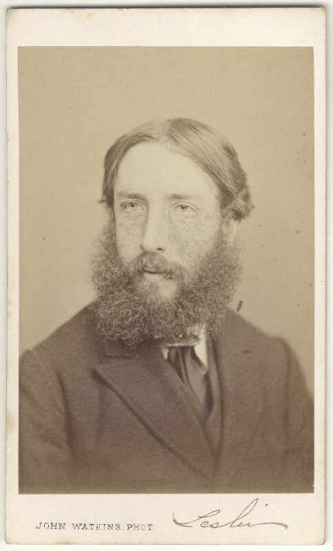 George Dunlop Leslie, by John Watkins, 1860s - NPG Ax17265 - © National Portrait Gallery, London