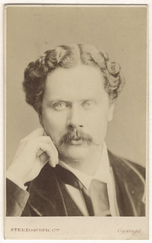 Marcus Clayton Stone, by London Stereoscopic & Photographic Company, 1860s - NPG Ax17277 - © National Portrait Gallery, London
