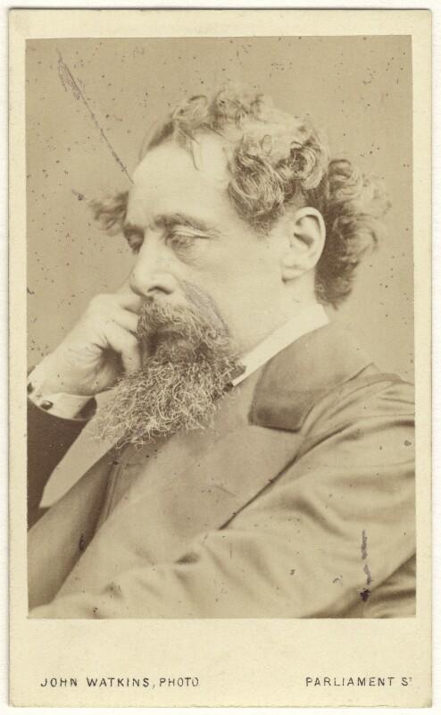 Charles Dickens, by John Watkins, September 1863 - NPG Ax17292 - © National Portrait Gallery, London