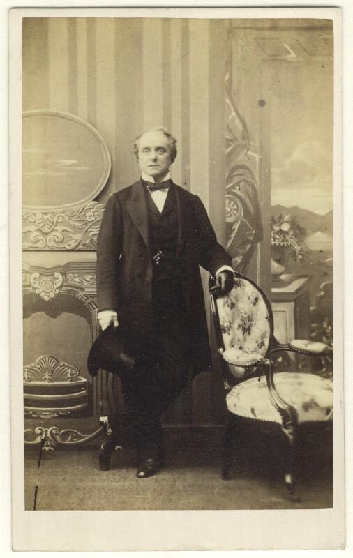Charles John Kean, by Horatio Nelson King, circa 1863 - NPG Ax25045 - © National Portrait Gallery, London