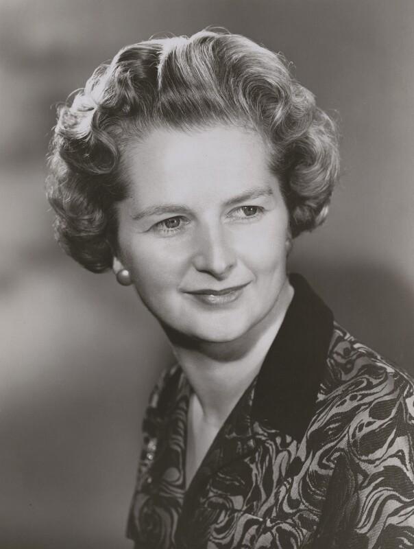 Margaret Thatcher, by Walter Bird, 15 November 1961 - NPG x165791 - © National Portrait Gallery, London