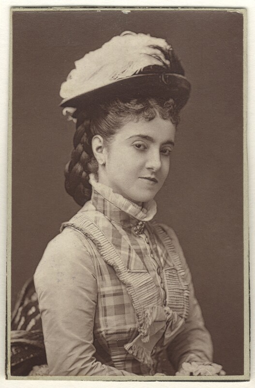 Adelina Patti, by Unknown photographer, 1870s - NPG Ax25073 - © National Portrait Gallery, London