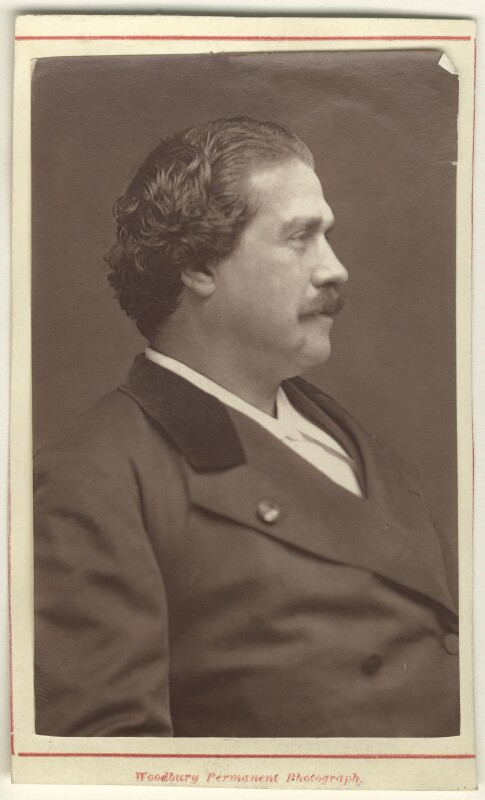 Ernesto Fortunato Giovanni Maria Rossi, by Pierre Petit, 1870s - NPG Ax25083 - © National Portrait Gallery, London