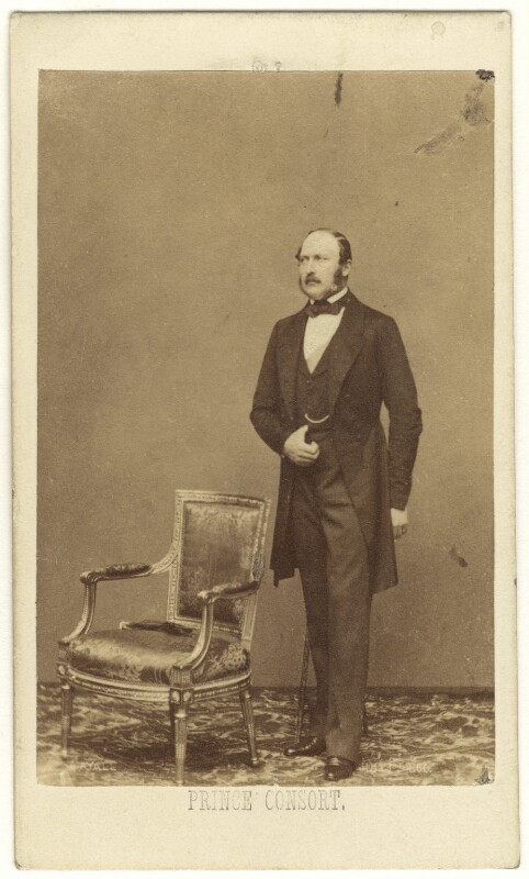 Prince Albert of Saxe-Coburg-Gotha, by John Jabez Edwin Mayall, May 1860 - NPG Ax24143 - © National Portrait Gallery, London