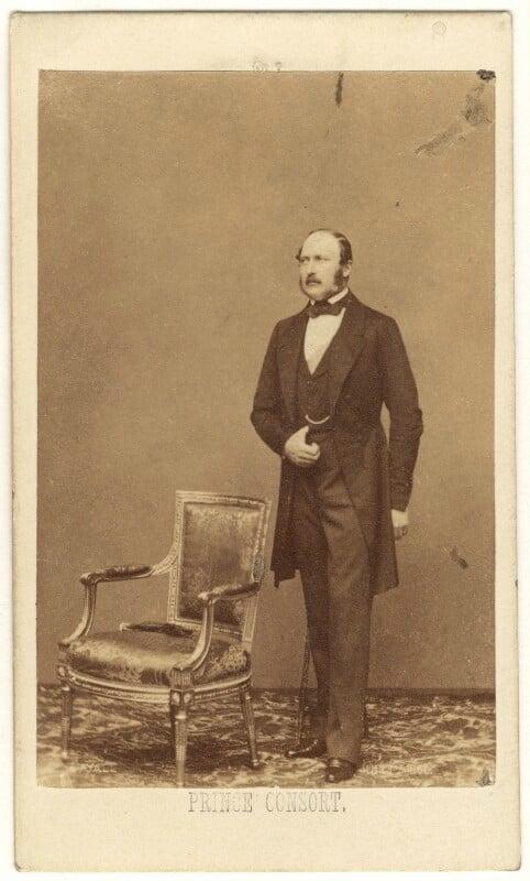 Prince Albert of Saxe-Coburg-Gotha, by John Jabez Edwin Mayall, May 1860 - NPG Ax24143 - © National Portrait Gallery, London