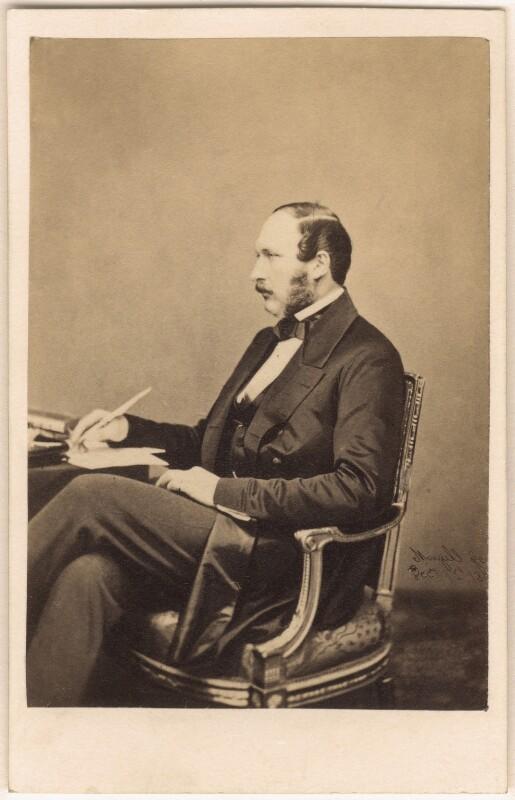 Prince Albert of Saxe-Coburg-Gotha, by John Jabez Edwin Mayall, May 1860 - NPG Ax24147 - © National Portrait Gallery, London