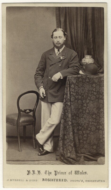 King Edward VII, by James Russell & Sons, 1866 - NPG Ax24165 - © National Portrait Gallery, London
