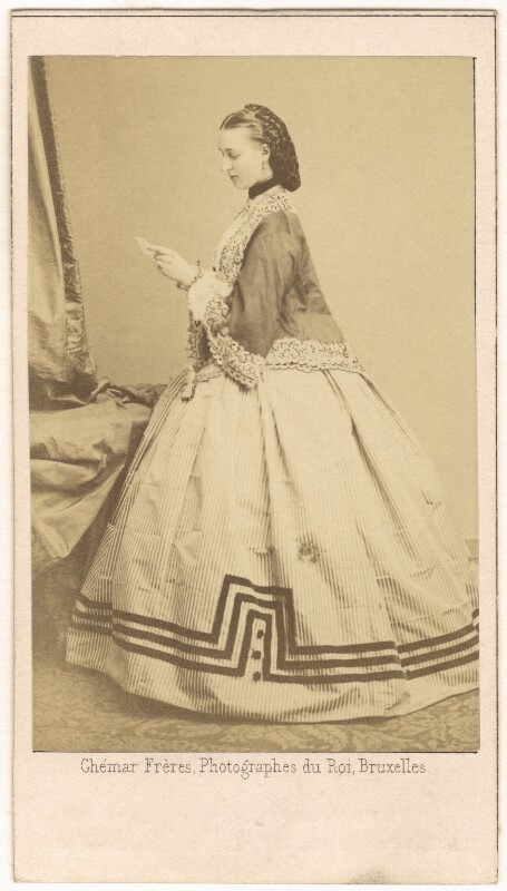 Queen Alexandra, by Ghémar Frères, 9 September 1862 - NPG Ax24177 - © National Portrait Gallery, London