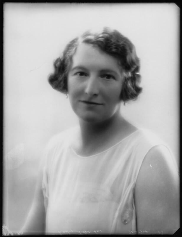 Alice Maud Mary (née Bretherton), Lady Fletcher, by Bassano Ltd, 7 March 1929 - NPG x124461 - © National Portrait Gallery, London