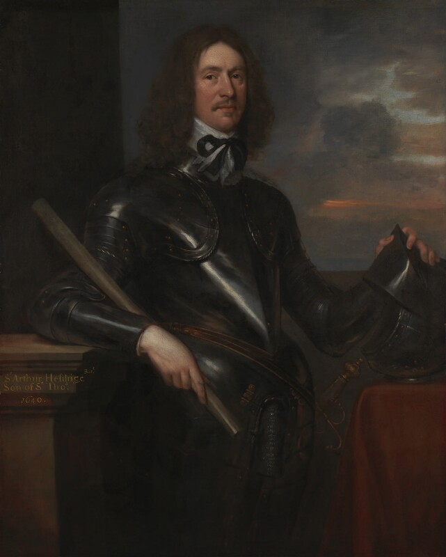Sir Arthur Hesilrige, by Unknown artist, circa 1650 - NPG 6440 - © National Portrait Gallery, London