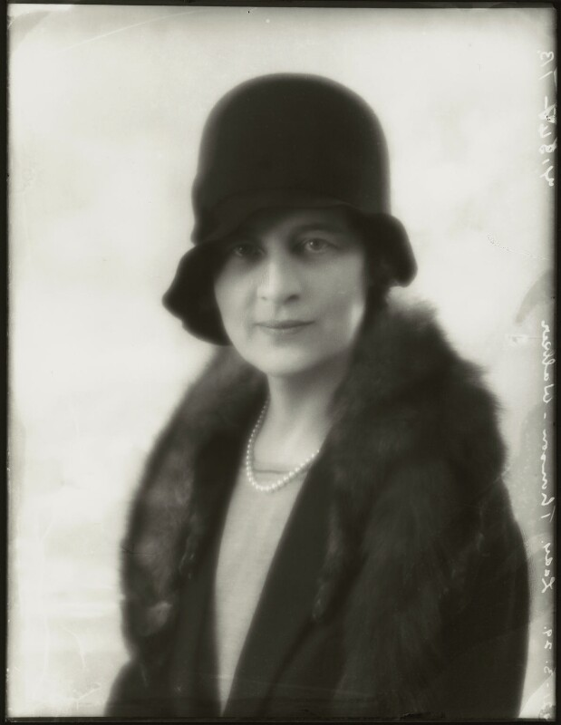 Isabella (née Nairn), Lady Thomson-Walker, by Bassano Ltd, 21 March 1929 - NPG x124484 - © National Portrait Gallery, London